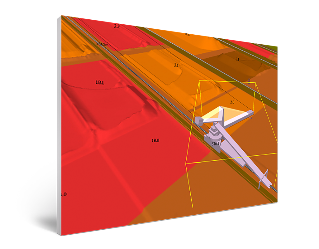 Collision Avoidance System predicts machine interactions in the Eka control system app