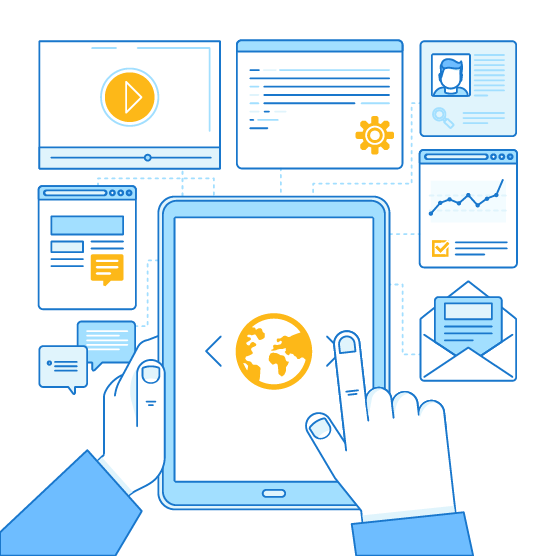 access data on any mobile device
